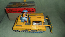 SUPERDOZER T-27 BATTERY OPERATED LATTA TIN MADE IN JAPAN  VINTAGE ORIGINAL