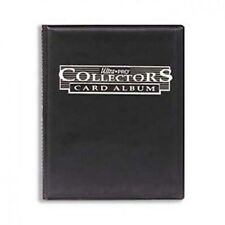 Ultra Pro Collector's Album / Portfolio w/ Pages (Black) Trading Cards / Gaming