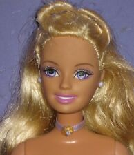 PALE BLOND BARBIE DOLL-NUDE FOR ONE OF A KIND