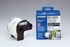 Beschriftungsband original Brother P-touch DK-22205 QL 500 550 560 570 650 1050