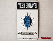 """Mummy Maniac Monsters 1"""" Soft Enamel Black Metal Plated Pin by Yesterdays.Co"""