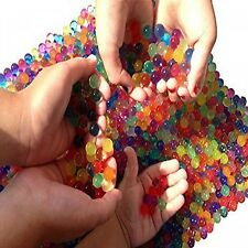 Calming Water Beads Crystal Gel For Autistic Kids Sensory Toy Vase Decor 4000pcs