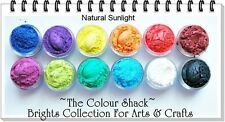 "The Colour Shack® Glamour Pearl Powder Set ""Brights Collection"" ARTS & CRAFTS"