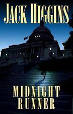 Midnight Runner by Jack Higgins (2002, Hardcover)