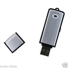 4gb Spy USB Memory Stick Audio Voice Recorder Dictaphone Listening Flsh Drive