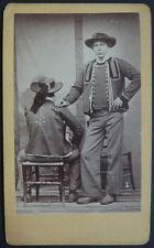 Photo Cdv Albuminé Costume Breton Bretagne Vers 1860/70