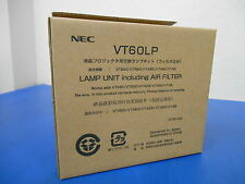 NEW! NEC VT60LP Projector Lamp including Air Filter VT660/VT560/VT465/VT460/VT46