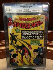 AMAZING SPIDERMAN #12 CGC 8.5 VF+ 3RD APP OF DOCTOR OCTOPUS (ID 3045)