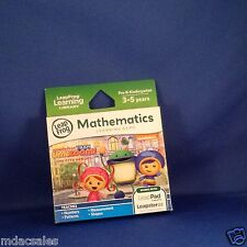 NEW IN BOX! LEAP FROG TEAM UMIZOOMI-UMI CITY HEROES MATHEMATICS LEARNING GAME