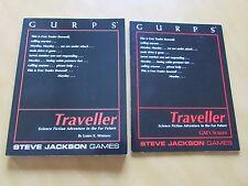 GURPS Traveller Lot - Traveller 1st Ed. & GM's Screen