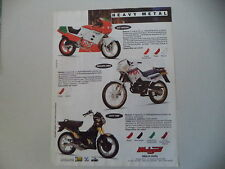 advertising Pubblicità 1991 MOTO MALAGUTI RST 50/ENDURO MRX/FIFTY TOP