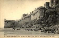 Mont Saint-Michel France CPA ~1910/20 Tour Nord et la Tour Boucle Stadtmauer