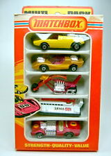 Matchbox Superfast Multipack MP-1 1975 komplett mit 5 Modellen