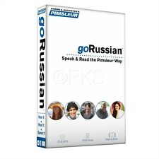 Pimsleur Russian Language 5 CD + 155 pages Book