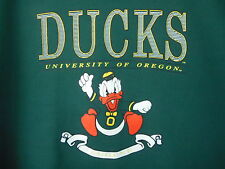 VTG Pullover Sweat Shirt  University Of Oregon Ducks USA MADE