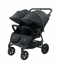 Valco 2016 NEO Twin Stroller in Black Lightning Fabric Brand New!! Double