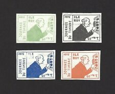 Ile Roy Fantasies 1975 Stamp Day 4v MNH ex Jim Czyl