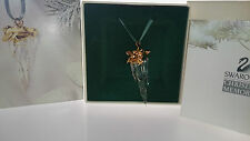 SWAROVSKI MEMORIES CHRISTMAS ORNAMENT EISZAPFEN ICICLE 211087 AP 2001 NEU