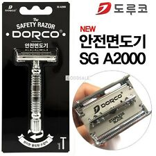 DORCO Safety Razor/Shaver SG A2000  +  10 Double edge Blades