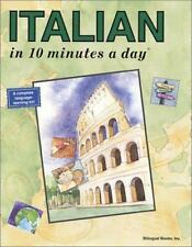 Italian in 10 Minutes a Day, 5th Edition Kristine K. Kershul Paperback