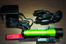 Streamlight 74769 Lime Green Strion HL500 Lumens with Battery AC DC Charger