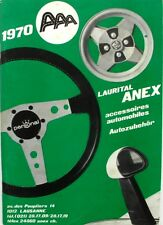 Documentation commerciale - LAURITAL ANEX - Accessoires automobile 1970