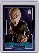 THE SILENCE Topps 2016 Doctor Who Card #99 PURPLE Foil #/99 SP Parallel 2011
