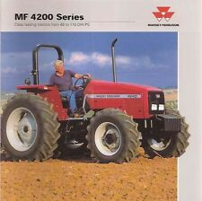 MASSEY FERGUSON 4200 MF4263 MF4270 4215 4220 4225 TRACTOR SHOP SERVICE MANUAL CD