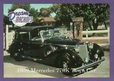 1939 Mercedes 770K Town Car, Imperial Palace Las Vegas Trading Card Not Postcard