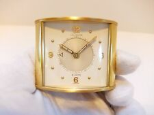 VINTAGE JAEGER LECOULTRE MEMOVOX 8 DAY ALARM CLOCK (Watch video)