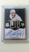 2013-14 THE CUP OLLI MAATTA RC #171 6BRK Patch Auto 183/249 PittsburghPenguins C