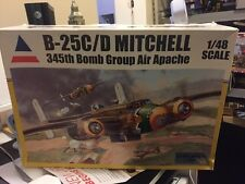 Accurate Miniatures 1/48 B-25C/D Mitchell 345th Bomb Group Air Apache 480030