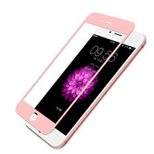 Genuine Tempered Glass Full Screen Protector Premium Rose Gold EDGE iPhone 7 4.7