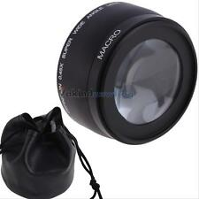 58mm 0.45X Wide Angle Lens for Canon EOS 1000D 1100D 500D Rebel T1i T2i T3i