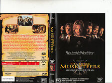 The Three Musketeers-1993-Charlie Sheen-Movie-DVD