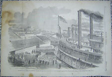 Mclernand's Brigade Cairo Mississippi Expedition Harper's Weekly 1862 Civil War