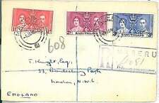 POSTAL HISTORY -  BASUTOLAND : FDC COVER 1937 Coronation of King George VI