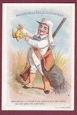 Chromo APPEL - LA BELLE JARDINIERE - 140613 - chasse fusil