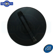 62-64 Chevy II Nova Fuel / Gas Tank Cap Flat - Black New