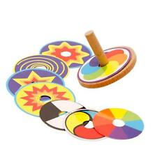 Wooden Classic Gyro Peg-top Developmental Spinning Top Kids Child Toy Gifts
