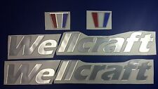 "wellcraft boat Emblem 30"" Stickers Set - Resistant to mechanical shock - Adesivi"
