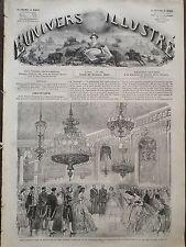 L' UNIVERS ILLUSTRE 1861 N 181 FÊTE DONNEE PAR LE MARECHAL MAC-MAHON A BERLIN