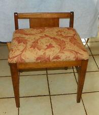 Oak Vanity Bench / Vanity Chair  (BH-BN176)