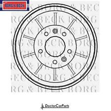 Brake Drum 1x Rear for PEUGEOT EXPERT 1.6 07-on CHOICE2/2 DV6UTED4 HDI 90bhp BB
