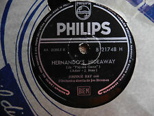 Johnnie Ray con orchestra - Going-Going-Gone / Hernando's Hideaway - 78 giri