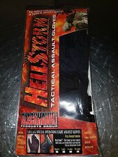 BLACKHAWK HELLSTORM TACTICAL S.O.L.A.G. ASSAULT GLOVES FULLFINGER GLOVES - BLACK