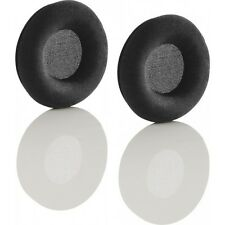 90mm VELOUR velvet Ear cushions earpads for Sennheiser HD205 HD215 Headphone UK