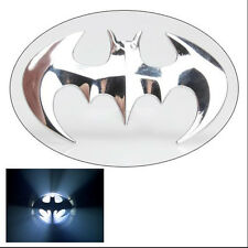 Cool Stereoscopic 3D Bat Shape Sliver Car Truck Emblem Badge Decal Sticker New