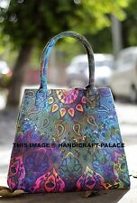 Indian Tie Dye Women Handbags Mandala Shopping Shoulder Carry Bag Tote Purse