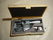 MITUTOYO 293-765-10 Electronic Digital Micrometer, 0 To 1""